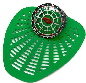 Urinoirrooster sport Dart groen