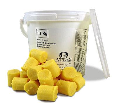 Urinoirblokjes | Emmer | 1kg
