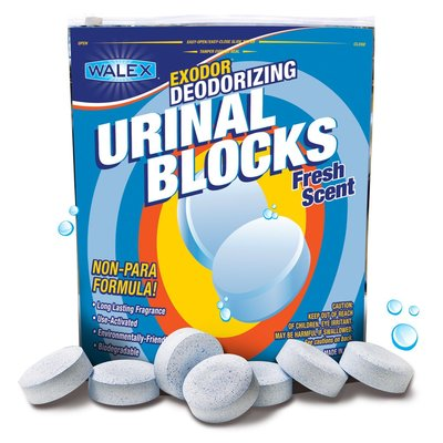Walex urinal Toss Lemon | urinoir tabletten | 30 Stuks