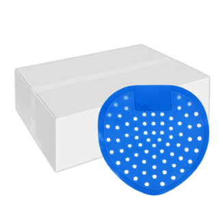 Urinoirroosters standaard blauw